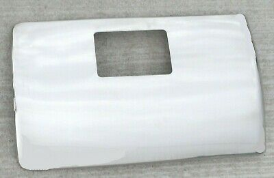 UP Glove Box Cover for Peterbilt 2006 & Up Stainless Steel Tape Mount #21715