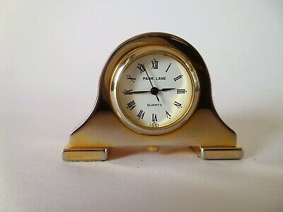 A quality quartz movement mantle clock made by the London company of Park Lane