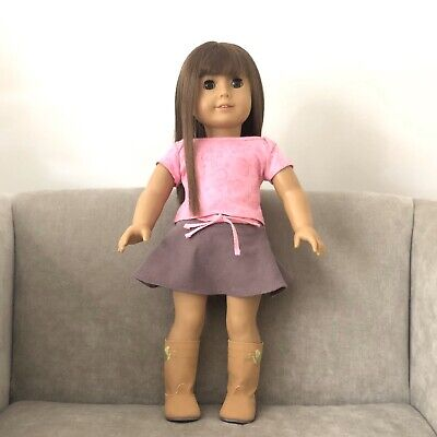 American Girl Truly Me #13 Doll Lt Skin, Br Eyes,Br Hair Bangs, Great Condition