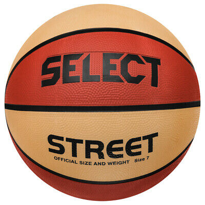 Select Street Basketball Spiel Sport Trainings Ball 20577001880 Gr. 7 orange neu