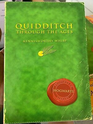 Quidditch Through the Ages by Kennilworthy Whisp Harry Potter Book J.K. Rowling