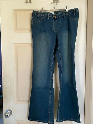 Baby Bump - Maternity Denim Bootcut Jeans  (Xl/16) Nwot- Stretchy And Comfy