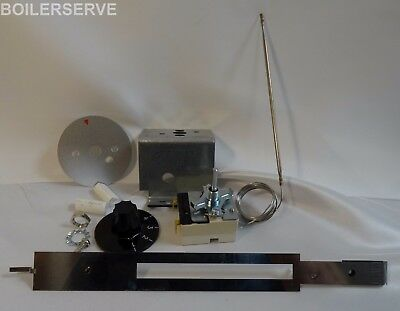 Aga Oil ROASTING OVEN THERMOSTAT SUPPORT KIT - AGA OIL PRE 2000 AO9M220703