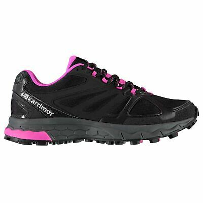 Karrimor Tempo 5 Trail Running Shoes Womens Black/Pink Jogging Trainers Sneakers