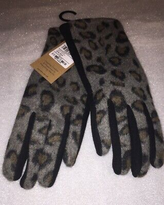 Leopard Print Spotty One Size LADIES GLOVES PAVERS DRIVING SOFT