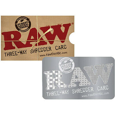 RAW Brand Three Way Shredder Card