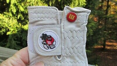 M&M's(R) Men's - Large Golf Glove by FootJoy (R) dated  1998 w/Red character NEW
