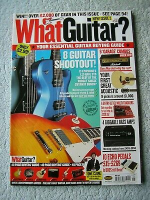 What Guitar? - May 2003 - Issue Two.