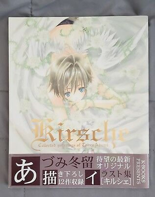 Kirsche Illustration Japanese Art Book Collected Paintings Tohru Adumi