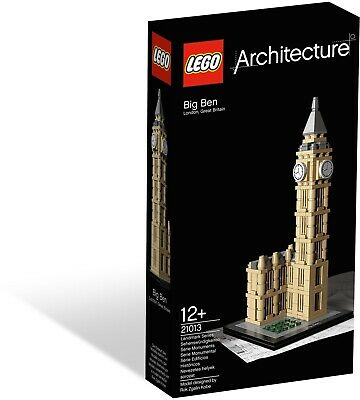 New Sealed Lego 21013 Architecture Big Ben Clock London England 8 Inch Tall