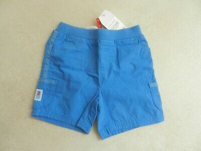 BNWT Next Baby Boys Cotton Bright Blue Shorts Age 0-3 Months