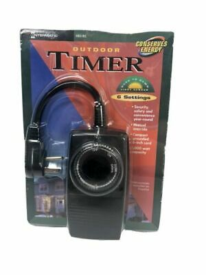 NEW~HB51RC~INTERMATIC~OUTDOOR TIMER 2//4//6//8 HOUR~SEALED~CHRISTMAS~HOUSE~LIGHTS