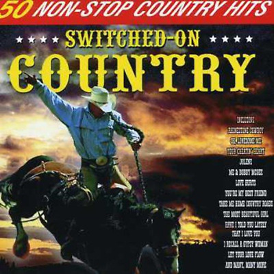 Various - Switched on Country: 50 Non-Stop Country Hits Audio CD (1997)