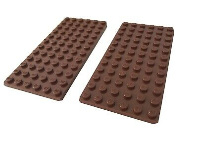 LEGO SPARES PARTS 4477 Black 1x10 Plate X4 FREE 1st Class Post!
