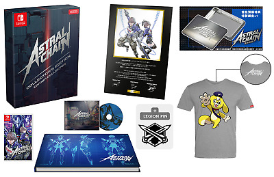 ASTRAL CHAIN Collector's Edition Bundle (Nintendo Switch) - Brand New & Sealed!