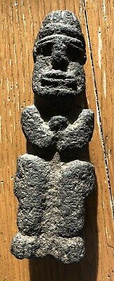 Fine Ancient Precolumbian Basalt Stone Idol Costa Rica