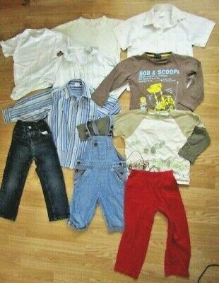 Bundle of 10 items of Boys Clothes AGE 4-5 (Jeans, Shorts, Tops, Shirts)