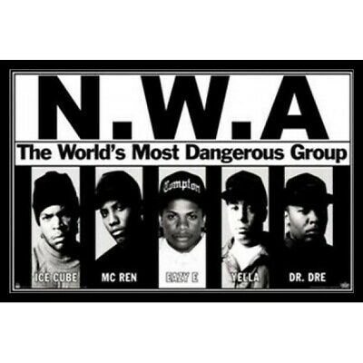 H-1893 Eazy E NWA Rapper Hip Hop Music Singer Star Wall Silk Poster