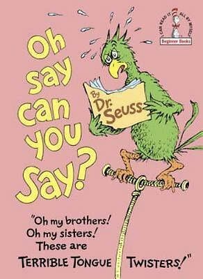 Beginner Books: Oh, Say Can You Say? by Dr. Seuss (1979, Hardcover) 1st Edition