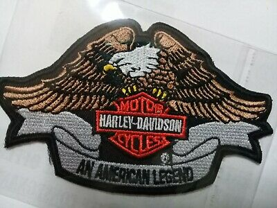 Toppa Patch Ecusson Harley Davidson Eagle Aquila Adler Thermoaderente Iron On