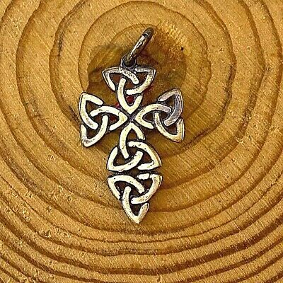 Bronze PENDANT Antiques Ancient Rare SMALL CELTIC CROSS