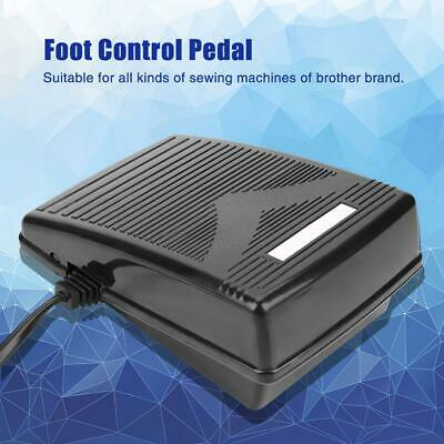Household Sewing Machine Foot Control Pedal For Accessories Black
