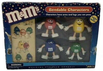 2003 M&M's Bendable Characters New