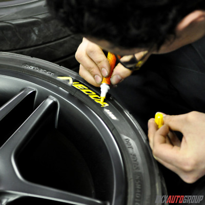Tire Permanent Paint Marker Pen Car Tyre Rubber Universal Waterproof Oil Based