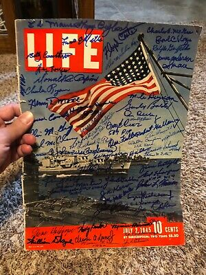 WWII Band Of Brothers Tuskegee Airmen signed autographed Photo Life Magazine