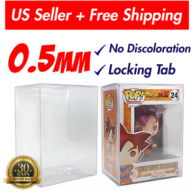 """Lot 1 3 5 10 20 Collectibles Funko Pop Protector Case for 4"""" inch Vinyl Figures"""