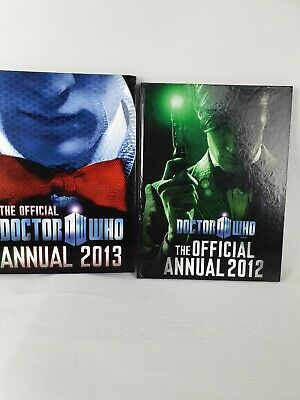Dr Who The Official Annual 2012 & 2013