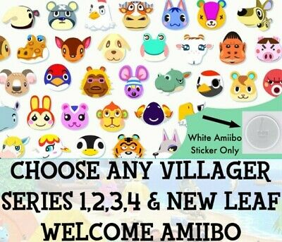 Any Animal Crossing Amiibo - Pick a Villager for New Horizons works like a card