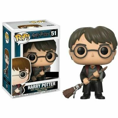 HARRY POTTER - HARRY POTTER WITH FIREBOLT POP! VINYL FIGURE  exclusive