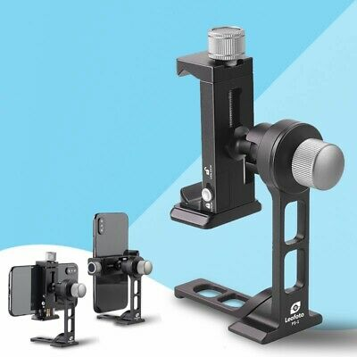 1 Kit Leofoto Phone Stand and Clamp PS-1 + PC-90II Smartphone Table Holder