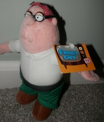 Family Guy t.v. show Plush  Peter Griffin 2005  new old stock