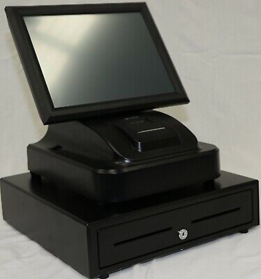 """10.1"""" touch screen POS Cash Register with printer & cash drawer Inc POS Software"""