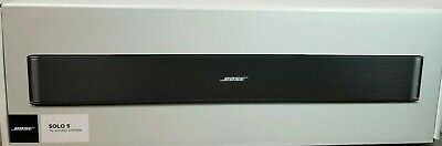Bose Solo 5 TV Sound System - Factory Renewed - 1 Year Warranty