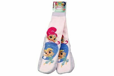 Shimmer & Shine Bed Slipper Socks Shimmer and Shine Girls Knit Slippers