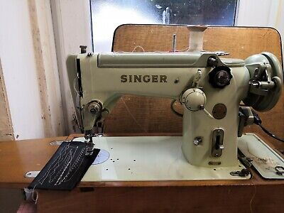 NICE VINTAGE SINGER 319k SEWING MACHINE, ZIG-ZAG, sew Leather, Serviced/ tested