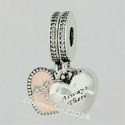Authentic Pandora Silver Travel Together Forever 791717 Dangle Charm