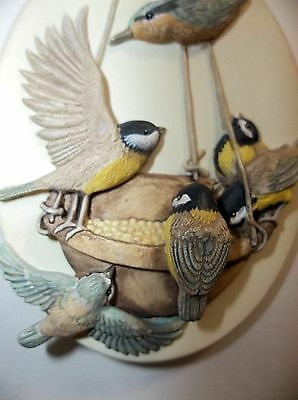 1997 Marjolein Bastin BIRDS Christmas Ornament SIGNED