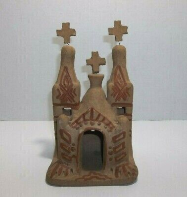 Vintage Mexican Pottery CHURCH Mission
