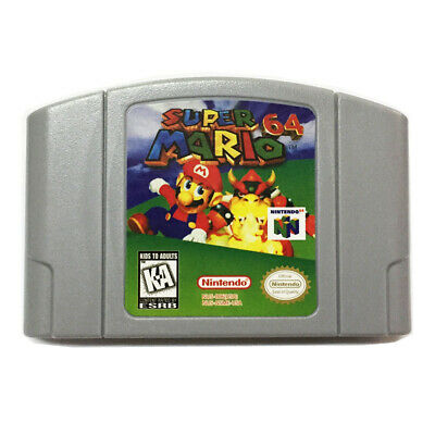 Super Mario 64 Video Game Cartridge Console Card For Nintendo 64 N64 US Version