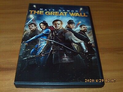 The Great Wall (DVD, Widescreen 2017)