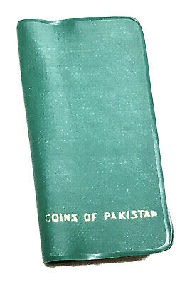 Vintage Antique Coins Of Pakistan 6-Coin Proof Set Currency Presentation Case