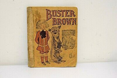 Antique Buster Brown Composition Book