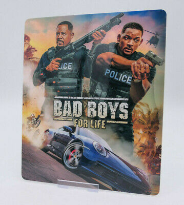 BAD BOYS FOR LIFE 3 - Bluray Steelbook Magnet Cover (NOT LENTICULAR)
