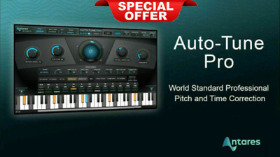 🎹 Antares Auto-Tune Pro Bundle v9.1 VST VST3 AAX Windows Instant Delivery