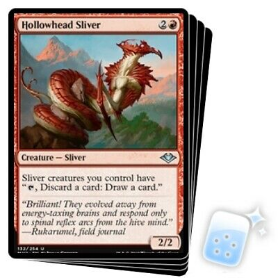 FOIL LANCER SLIVER X4 Modern Horizons Magic MTG MINT CARD