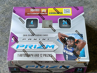 2019-20 Panini Prizm NBA Basketball Retail Box Factory Sealed RC Zion Morant